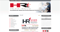 Preview of hr-valais.ch