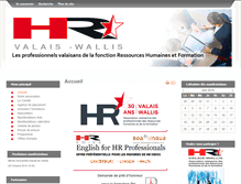 Tablet Preview of hr-valais.ch